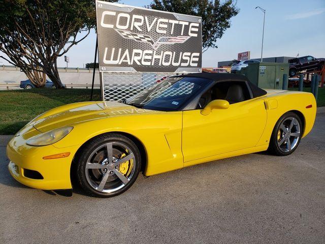 2007 Chevrolet Corvette Convertible 3LT, Z51, NAV, Polished Wheels 75k