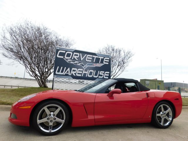 2007 Chevrolet Corvette Convertible 3LT, Z51, Auto, Power Top, Chromes 51k