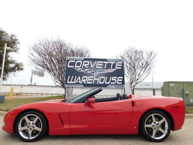 2007 Chevrolet Corvette Convertible 3LT, Z51, Auto, Power Top, Chromes 51k in Dallas, Texas 75220