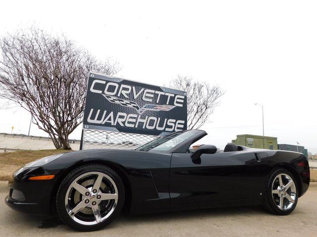 2007 Chevrolet Corvette Convertible 3LT, Z51, Power Top, Chromes 39k
