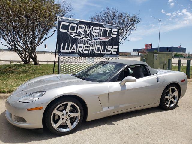 2007 Chevrolet Corvette Convertible 3LT, F55, NAV, Chromes, Power Top 17k