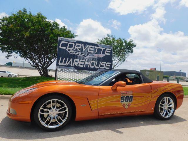 2007 Chevrolet Corvette Pace Car Edition Conv 3LT, Z51, NAV, Chromes 16k