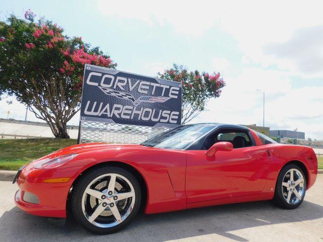 2007 Chevrolet Corvette Coupe 3LT, Z51, NAV, Glass Top, Auto, Chromes 47k