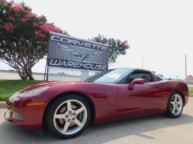 2007 Chevrolet Corvette Coupe 3LT, NAV, Auto, Polished Wheels, Only 49k