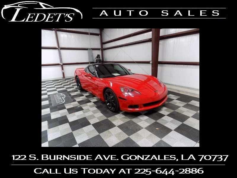 2007 Chevrolet Corvette  - Ledet's Auto Sales Gonzales_state_zip in Gonzales Louisiana