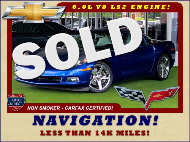 2007 Chevrolet Corvette 2LT - LESS THAN 14K MILES - NAVIGATION Mooresville , NC 0
