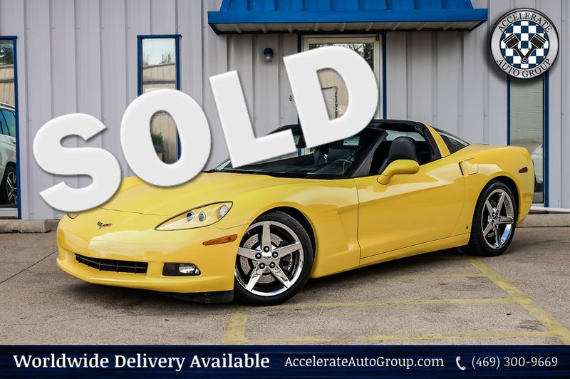2007 Chevrolet Corvette 6.0L V8 6-SPD MAN Navigation Perf PKG1-Owner Nice! in Rowlett Texas