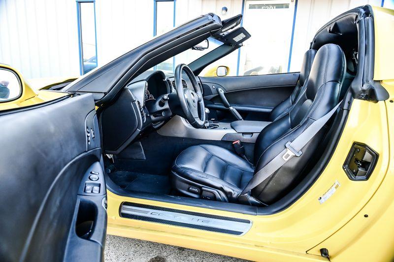 2007 Chevrolet Corvette 6.0L V8 6-SPD MAN Navigation Perf PKG1-Owner Nice! in Rowlett, Texas