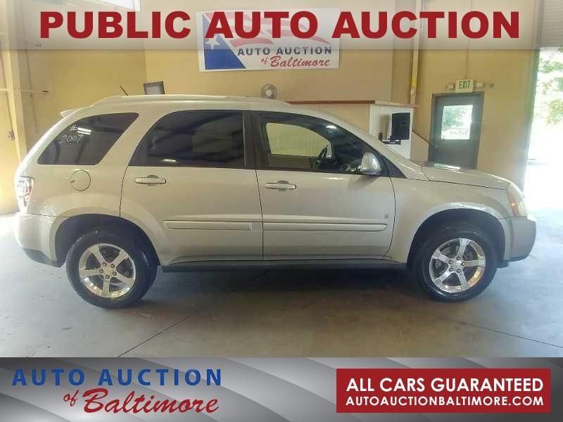 2007 Chevrolet Equinox LT   JOPPA, MD   Auto Auction of Baltimore  in JOPPA MD
