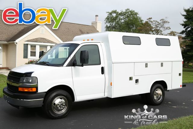 2007 Chevrolet Express 3500 DRW UTILITY SERVICE LOW MILES 1-OWNER WOW 6.0L V8