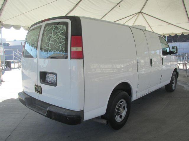 2007 Chevrolet Express Cargo Van Gardena, California 2