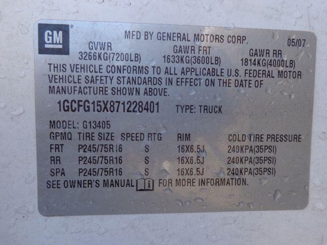 2007 Chevrolet Express Cargo Van Hoosick Falls, New York 7