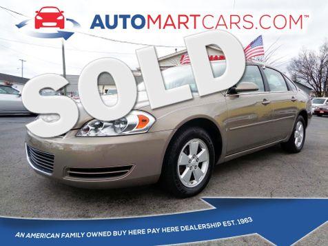 2007 Chevrolet Impala 3.5L LT   Nashville, Tennessee   Auto Mart Used Cars Inc. in Nashville, Tennessee