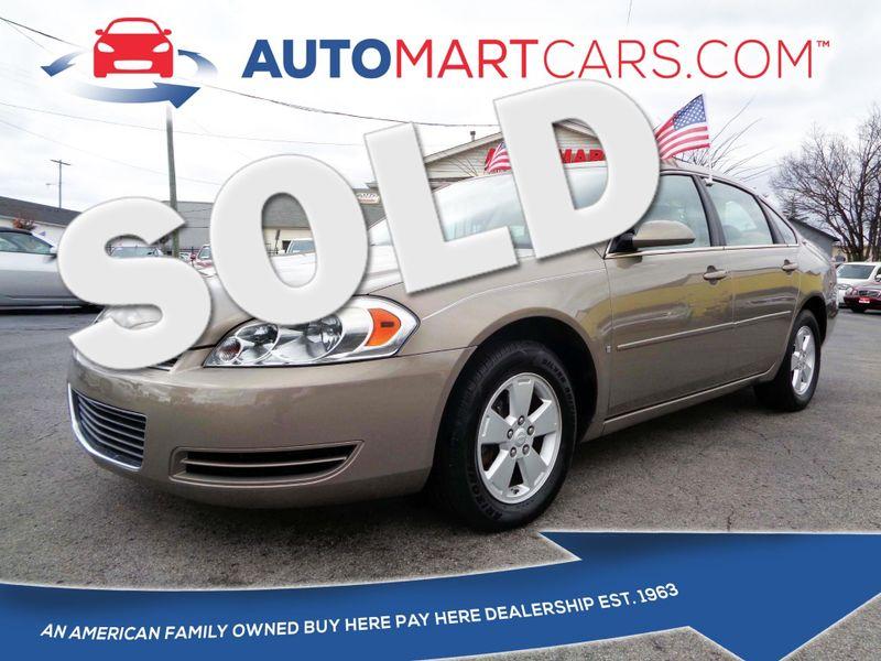 2007 Chevrolet Impala 3.5L LT   Nashville, Tennessee   Auto Mart Used Cars Inc. in Nashville Tennessee