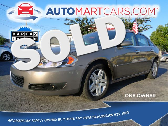 2007 Chevrolet Impala LTZ | Nashville, Tennessee | Auto Mart Used Cars Inc. in Nashville Tennessee