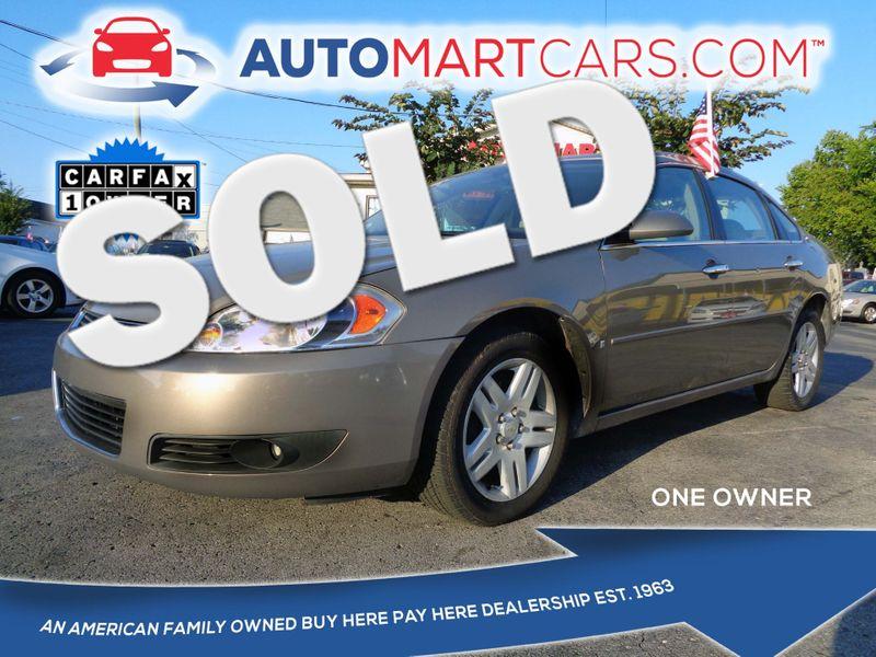 2007 Chevrolet Impala LTZ | Nashville, Tennessee | Auto Mart Used Cars Inc. in Nashville Tennessee