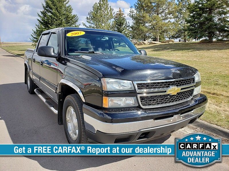 2007 Chevrolet Silverado 1500 2WD Crew Cab LS  city MT  Bleskin Motor Company   in Great Falls, MT