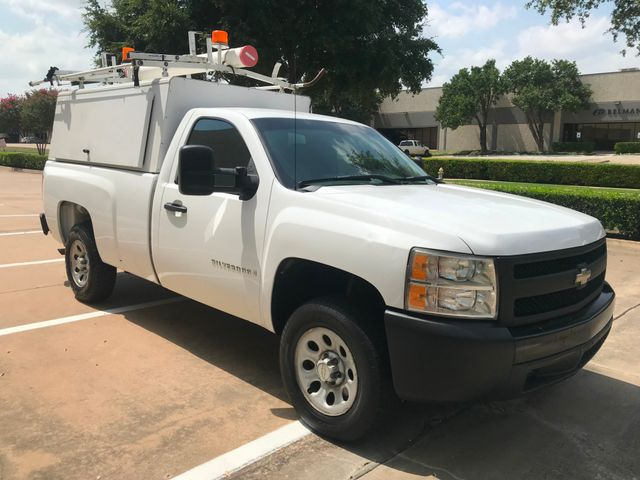 2007 Chevrolet Silverado 1500 Utility Topper Raks, Bins, Ladder rack.