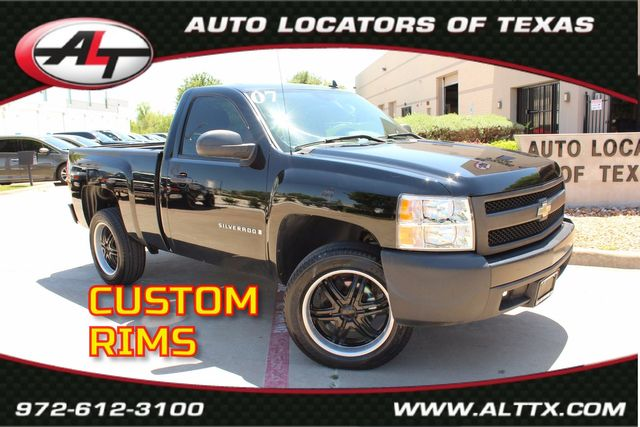 2007 Chevrolet Silverado 1500 Work Truck with 20 INCH RIMS