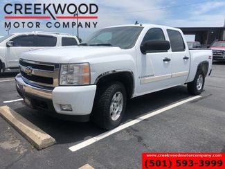 2007 Chevrolet Silverado 1500 LT 4x4 Z71 White Cloth Rear Camera Low Miles NICE in Searcy, AR 72143