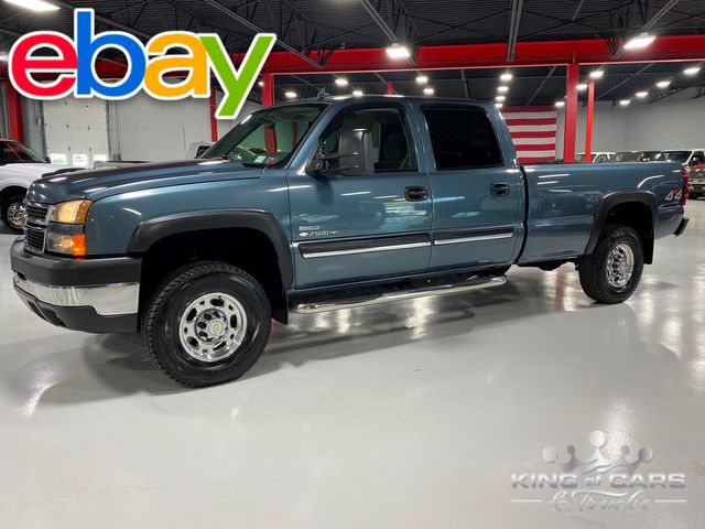 2007 Chevrolet Silverado 2500 4X4 CREW 6.6L LBZ DURAMAX RARE ONLY 89K MILE in Woodbury, New Jersey 08093