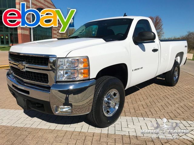 2007 Chevrolet Silverado 2500 HD 4X4 RCAB ONLY 49K MILES WOW 6.0L V8 MINT