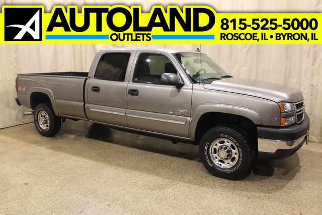 2007 Chevrolet Silverado 2500HD 4x4 Diesel Long Bed LT1