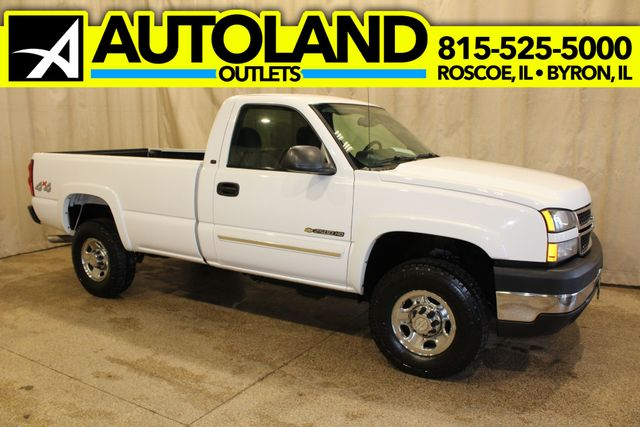 2007 Chevrolet Silverado 2500hd 81l Long Bed Diesel 4x4 Lt1