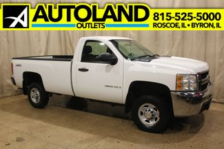 2007 Chevrolet Silverado 2500HD Long Bed Reg. Cab Diesel 4x4 Work Truck in Roscoe, IL 61073