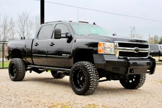 2007 Chevrolet Silverado 2500 HD LTZ Crew Cab 4x4  6.6L Duramax Diesel Allison Auto LIFTED Sealy, Texas 1