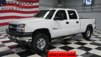 2007 Chevrolet Silverado 2500HD LT 4x4 LBZ Diesel Classic White Leather Low Miles in Searcy, AR 72143
