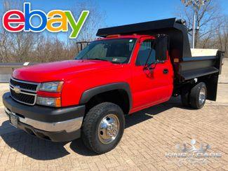 2007 Chevrolet Silverado 3500 4X4 MASON DUMP 49K MILES 6.0L V8 WOW in Woodbury, New Jersey 08096