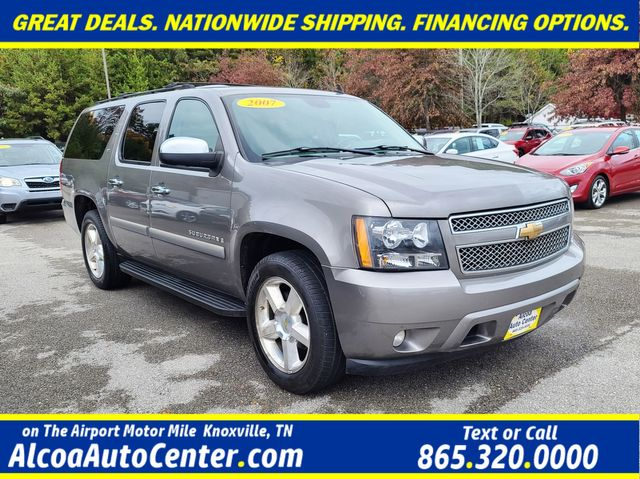 "2007 Chevrolet Suburban LTZ RWD 5.3L V8 Navigation Leather Sunroof /20"" in Louisville, TN 37777"