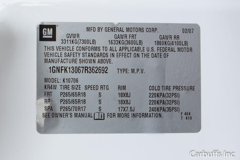 2007 Chevrolet Tahoe LT Z71 | Concord, CA | Carbuffs in Concord, CA