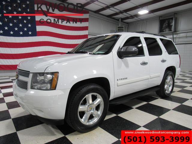 2007 Chevrolet Tahoe LTZ 4x4 White Nav Roof Tv Dvd Chrome 20s New Tires in Searcy, AR 72143