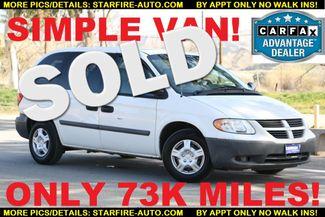 2007 Dodge Caravan SE Santa Clarita, CA