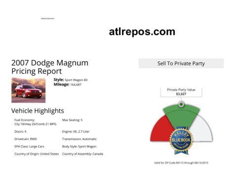 2007 Dodge Magnum  in Salt Lake City, UT