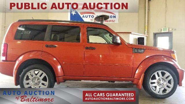 2007 Dodge Nitro R/T   JOPPA, MD   Auto Auction of Baltimore  in Joppa MD