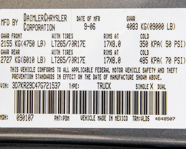 2007 Dodge Ram 2500 Laramie Burbank, CA 31