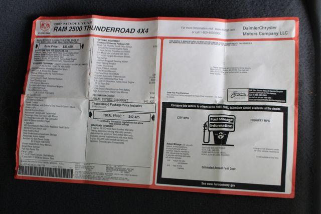 2007 Dodge Ram 2500 SLT Quad Cab Long Bed 4X4 THUNDERROAD - 5.9L! Mooresville , NC 4