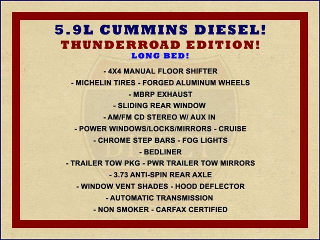 2007 Dodge Ram 2500 SLT Quad Cab Long Bed 4X4 THUNDERROAD - 5.9L! Mooresville , NC 1