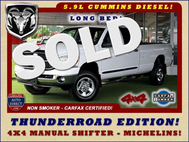 2007 Dodge Ram 2500 SLT Quad Cab Long Bed 4X4 THUNDERROAD - 5.9L! Mooresville , NC