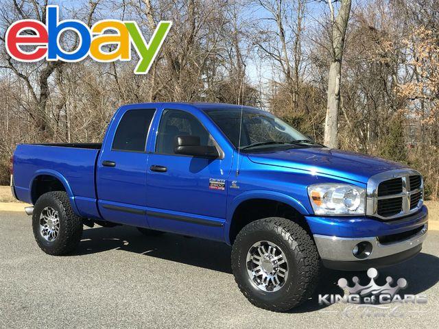 2007 Dodge Ram 2500 Quad Cab SLT 68K MILES 5.9L CUMMINS DIESEL 4X4 ELECTRIC BLUE RARE
