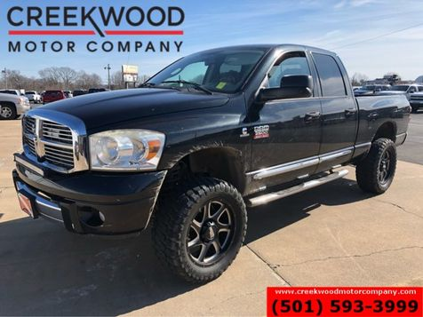 2007 Dodge Ram 2500 Laramie 4x4 5.9 Diesel Auto Black 20s Leather NICE in Searcy, AR