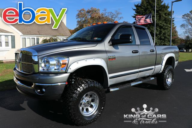 2007 Dodge Ram 2500 Slt 5.9l DIESEL 6-SPEED 47K MILES LIFTED 4X4 MINT