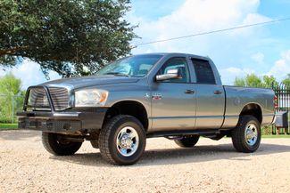 2007 Dodge Ram 2500 SLT Quad Cab 4X4 5.9L Cummins Diesel Auto Sealy, Texas 5