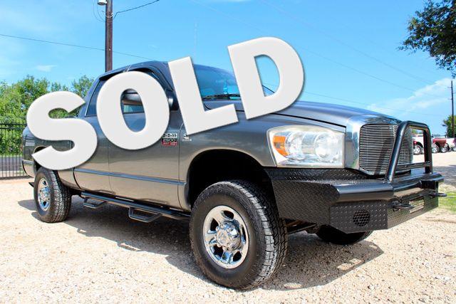 2007 Dodge Ram 2500 SLT Quad Cab 4X4 5.9L Cummins Diesel Auto Sealy, Texas