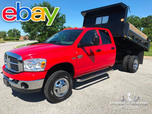 2007 Dodge Ram 3500 Crew 4x4 2-OWNER MASON DUMP ONLY 42K MILES MINT in Woodbury, New Jersey 08096