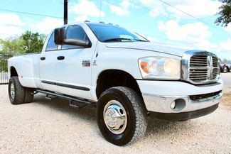 2007 Dodge Ram 3500 DRW SLT Quad Cab 4X4 5.9L Cummins Diesel 6 Speed Manual Sealy, Texas