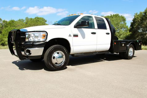 2007 Dodge Ram 3500 FLATBED - 4X4 - LOW MILES in Liberty Hill , TX